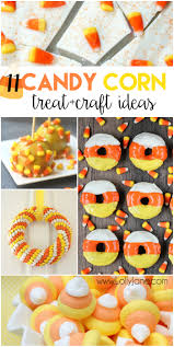 Halloween Candy Craft Ideas by 11 Candy Corn Treat And Craft Ideas