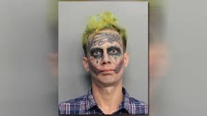 The Office Joker Halloween by Miami U0027joker U0027 Arrested Again Charged With Marijuana Possession