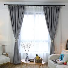 How To Install Curtain Tie Backs Aliexpress Com Buy American Solid Cotton String Curtain Hanging