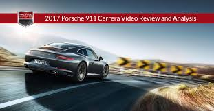 carrera porsche 2017 porsche 911 carrera video review and analysis