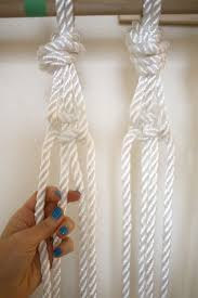 How To Hang Door Beads by Make Your Own Macrame Curtain U2013 A Beautiful Mess