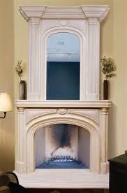 elegant fireplace mantel overmantels
