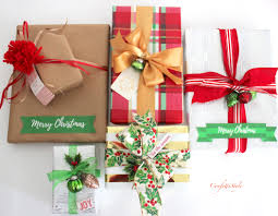 wholesale ribbon christmas gift wrap creative ideas tips confettistyle