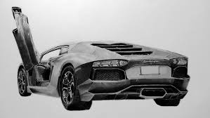 lamborghini car drawing lamborghini aventador pencil drawing by rintaladrawings on deviantart