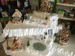 christmas villages copeland christmas a mini christmas using styrofoam