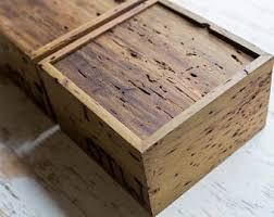handcrafted wood wooden box etsy