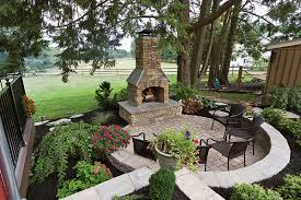 design of outdoor patio ideas with fireplace outdoor fireplace and