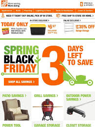 when is the home depot 2017 spring black friday home depot final days spring black friday milled