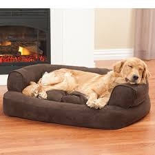 dog beds sofas overstuffed luxury sofa drs foster and smith