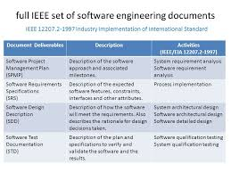 ieee 12207 document templates choice image templates design ideas