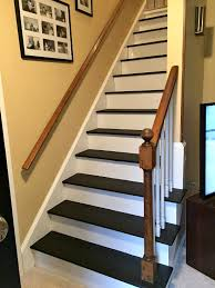 How To Refinish A Banister To Remove Carpet From Stairs And Paint Them