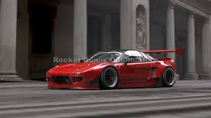 mazda rx7 rocket bunny kit rocket bunny honda nsx rocketbunny discovery japan mall