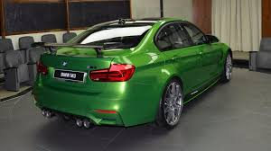Bmw M3 Yellow Green - fully loaded bmw m3 java green is the antonym of subtle