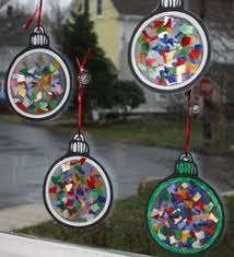 snow globe cup ornaments to make for crafts and gifts