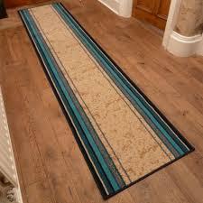 Blue Rug Runners For Hallways Blue Hall Runner Rug Stripe Carpet Runners Uk