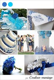 mariage bleu et blanc decoration mariage bleu blanc wedding photo reportare