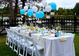 baby shower table ideas baby shower decorations for a girl backyard decoration ideas
