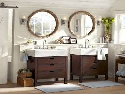 white sink with brushed nickel faucet modern white bathroom