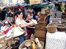A Home Decor Store A Customer Inspects A Home Decor Product At A Store In Dapitan