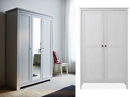 armoire chambre déco chambre armoire penderie en bois blanc fashion maman