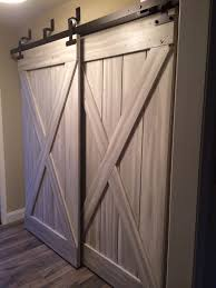 Barn Door For Closet Barn Doors For Closets That Present Rustic Outlooks In Unique With