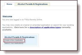 ttb permits online customer user guide