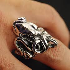 gothic rings silver images Japan gothic jewelry magnificent octopus emperor claws fish silver jpg