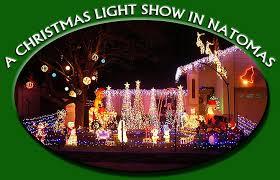 Light Show Lights A Sacramento Christmas Light Show Ricks Lights