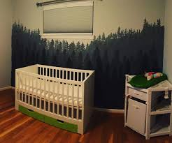 make your own forest wall mural 7 steps with pictures