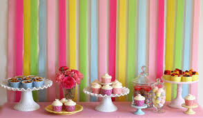 Easy Party Decorations To Make At Home by Pretty Party Backdrop U2013 Glorious Treats
