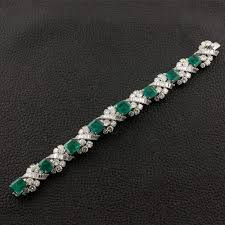 diamond emerald bracelet images 92 best diamond bracelet images jewelery arm jpg