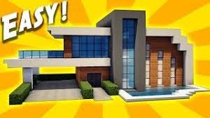How To Build A Small House Minecraft How To Build A Small Modern House Tutorial Easy