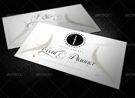 Event Business Cards Elegant Wedding And Event Business Card By Shermanjackson