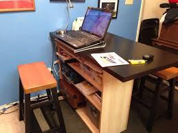 ikea hack bar breakfast bar home office desk ikea hackers ikea hackers