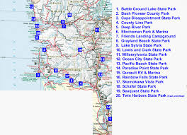 Map Of Vancouver Washington by Southwest Washington Rv And Tent Camping
