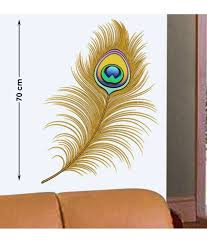 stickerskart wall stickers oh dreamy peacock feather 57116 buy