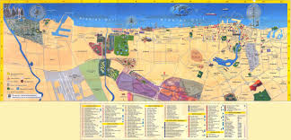 Maps O Maps Of Dubai Detailed Map Of Dubai City In English Maps Of