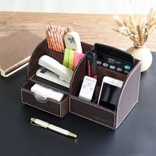 Leather Desk Organizer by Leather Desk Organizer With Drawers Best Home Furniture Decoration