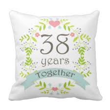 38th wedding anniversary 38th wedding anniversary gifts t shirts posters other