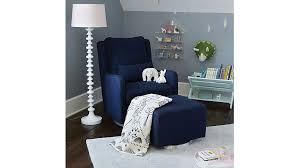 navy blue glider and ottoman navy blue glider chair chair design ideas