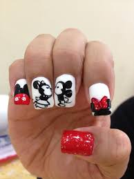 mickey minnie mouse nails mickey minnie mouse nails nail designs