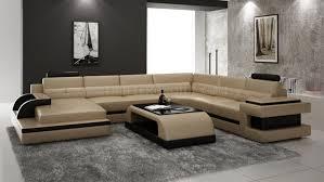 canapé 14 places canapé d angle panoramique en cuir avec table basse assortie modèle