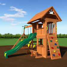 best wooden swing sets the backyard site picture on amusing