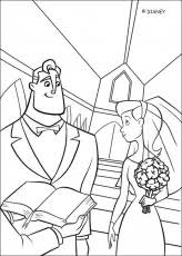 incredibles coloring book pages incredibles 7 coloring