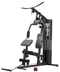 amazon com marcy diamond elite md1559 home gym with 150 pound