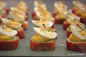 canap ap o canape omelette manchego and white souffle with