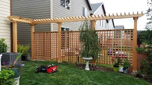 fence cedar river construction make your fence of deck happen