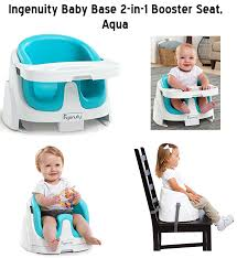 Booster Seat Dining Chair The Ingenuity Baby Base 2 In 1 Booster Seat In Aqua From Baby In