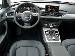 audi a6 u2013 a speedy black beauty