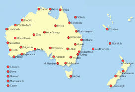 australia map of cities australian atmospheric soundings